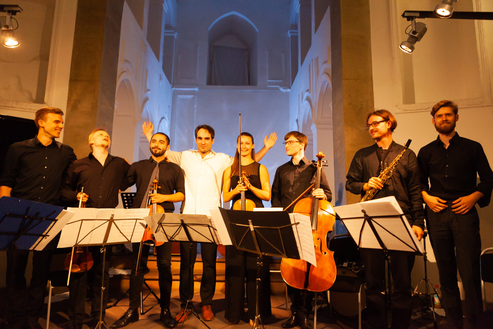 Ensemble EDEN - Spitaele Wuerzburg 2018 © Gerald Langer